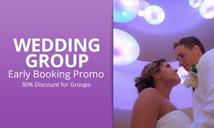 Wedding Group Early Booking Sale